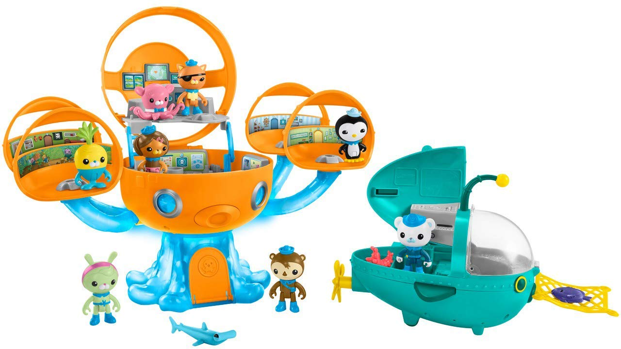 Fisher-Price Octonauts Megapack(亚马逊独家) Fisher-Price O