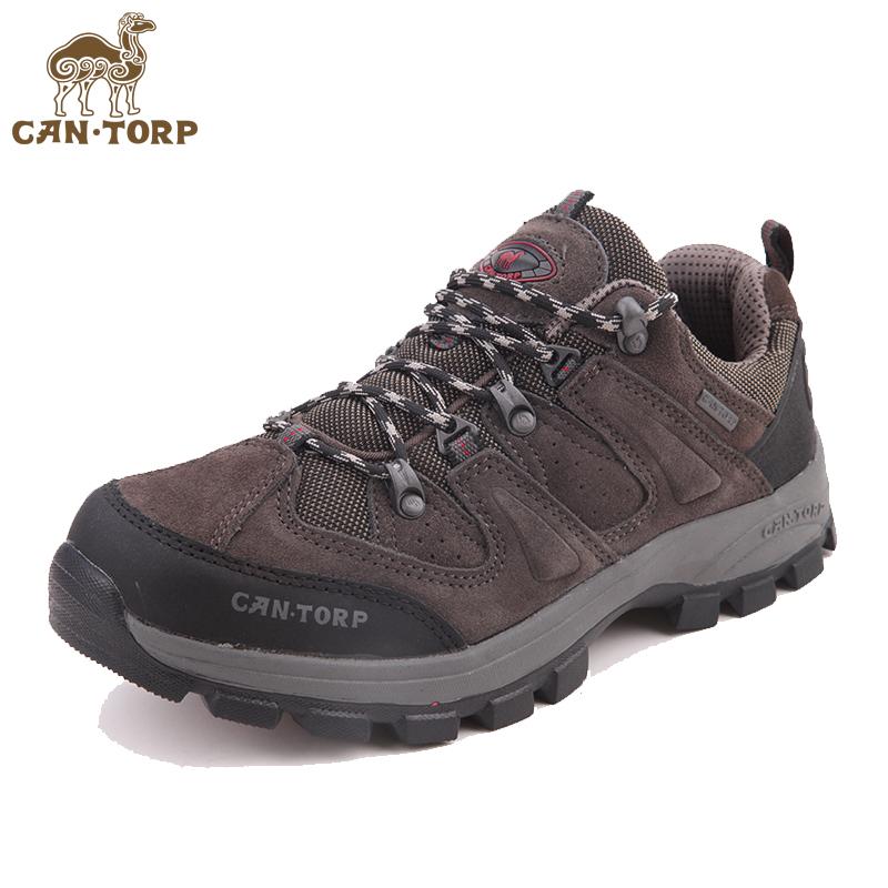 断码清仓CANTORP骆驼登山鞋 男女秋冬季耐磨徒步鞋防滑透气户外鞋