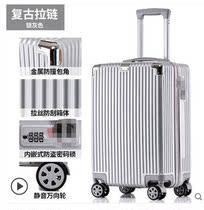 拖杆箱牛津布26寸24女万向轮学生行李箱男22寸20防水拉杆旅行箱包