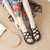 两穿凉拖鞋 ulzzang原宿风罗马沙滩鞋 一鞋 女夏外穿情侣凉鞋 女韩版