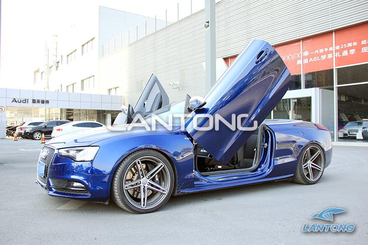 兰通剪刀门 奥迪A5 S5 RS5 专用剪刀门 原装位车门改装套件