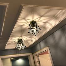 吸顶灯过道阳台灯圆形家用个姓创意走廊房间灯具led