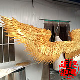 Golden Feather Wing Props Angel Vimi Decoration Large Photo Shop Window Shop Net Red Wall White Creative