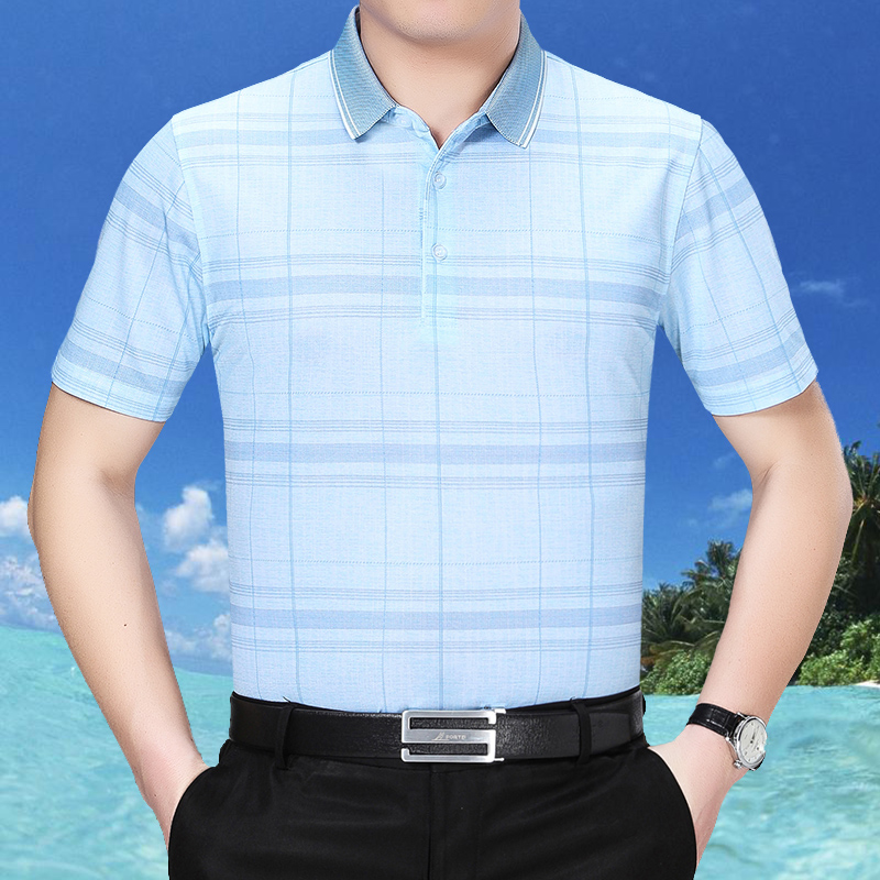 商务半袖男装衬衫