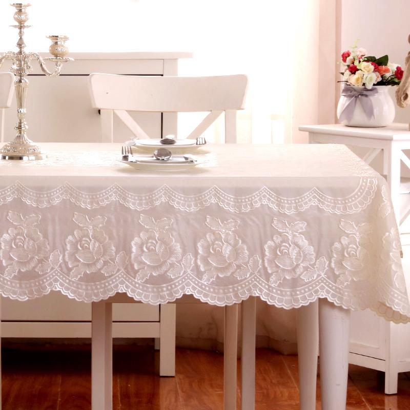 玫瑰花桌布布艺
