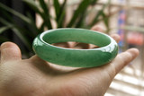Natural authentic Dongling jade bracelet Female models full of green Guizhou jade stone jade bracelet jewelry commemorative
