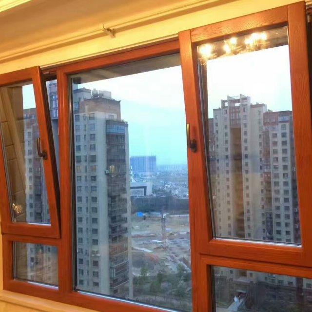 北京富贵花断桥铝门窗封阳台平开隔音窗落地窗铝合金窗户三层玻璃