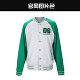 Genuine NewBalance2015 autumn men's sportswear casual baseball uniform coat jacket AMJ53643