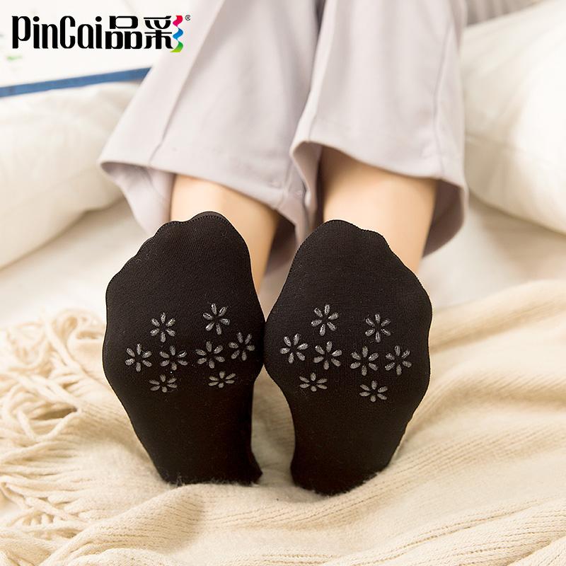 蕾丝袜子女浅口船袜脚底袜底春秋隐形夏季薄款硅胶防滑纯棉短袜套