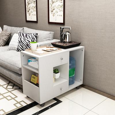 簡約現代長方形迷你小茶幾 客廳沙發邊柜 邊幾角幾 大桶水邊方桌新品特惠