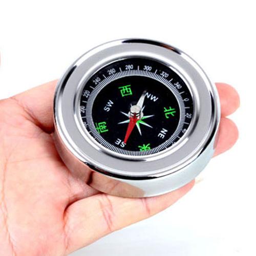 大号不锈钢指南针指北针罗盘指南针便携式户外登山野营方向