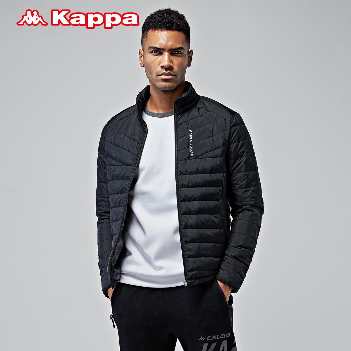 背靠背Kappa男羽绒服运动休闲外套保暖衣冬季K0752YY09