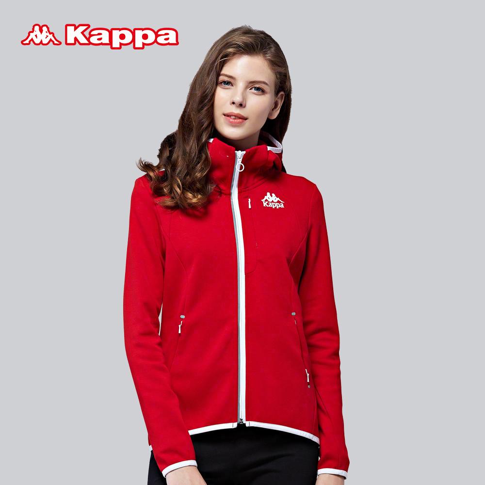 背靠背Kappa卡帕 女款卫衣休闲运动服装女健身运动外套K0762MK05