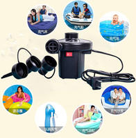 Baby swimming pool electric air pump children swimming ring electric pump air pump air bed inflatable toy air pump