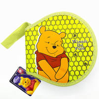 Cartoon CD package CD package Household disc box large capacity children's DVD storage bag 80 pieces CD package CD case