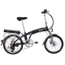 折叠电动自行车成人20寸助力自行车电瓶车变速代步电动车锂电