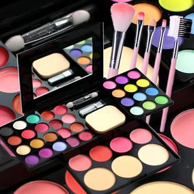 正品化妆粉盒彩妆盘39色彩妆套装全套组合粉饼口红腮红眼影盘珠光