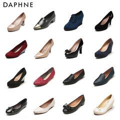 女单鞋高跟粗跟
