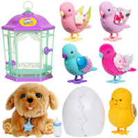 Smart and creative my little pet hatching egg my dream puppy child will shine singing bird toy girl