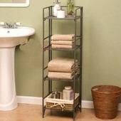 特价促销 三层落地置物架小书架浴室收纳架储物架 四层铁艺置物架