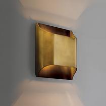 沐影全铜轻奢后现代风格简约壁灯样板房酒店客厅卧室背景墙艺术灯