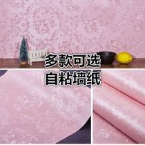立体寝室现代简约泡沫电视背景墙3D墙纸卧室女孩壁纸宿舍大学生