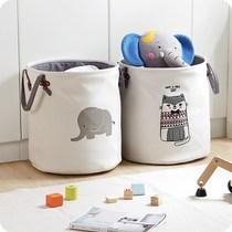 布艺家用玩具收纳桶放衣服的脏衣篓折叠脏衣篮 衣物脏衣桶其他品