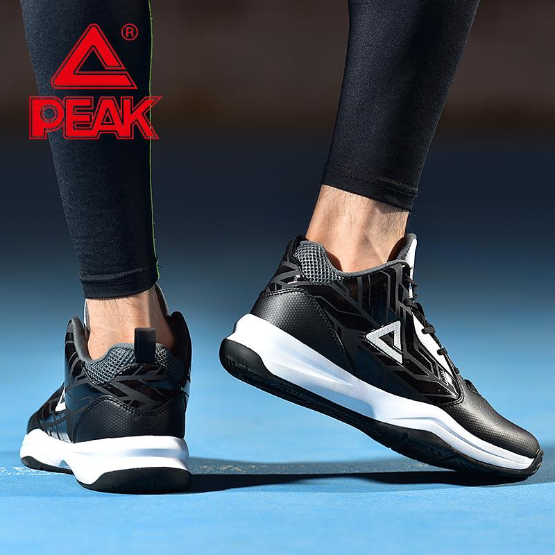 匹克男2019夏季新品学生男子运动赛场综合训练篮球鞋运动鞋基础款