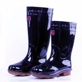 双星高筒雨鞋男中筒低帮短筒防水防滑耐磨雨靴长筒高帮牛筋底胶靴