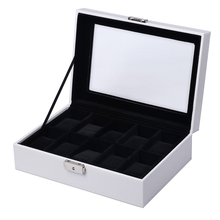 Watch Jewellery Storage Boxes Organiser for 10 Watches