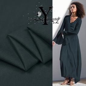 ●15.5姆米特别定制 超舒适软糯的弹力雪纺真丝布料 轻薄透明织物