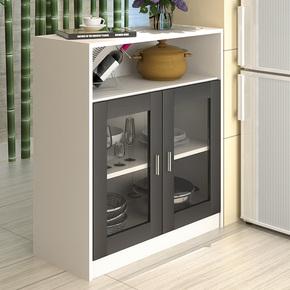餐边柜现代简约储物小碗柜餐厅厨房简易组装多功能备餐茶水柜酒柜