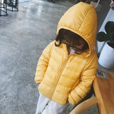 Girl Down Short Style Short Style 2019 New Korean Edition Cotton-padded Light and Thin Baby Cotton-padded Winter Coat