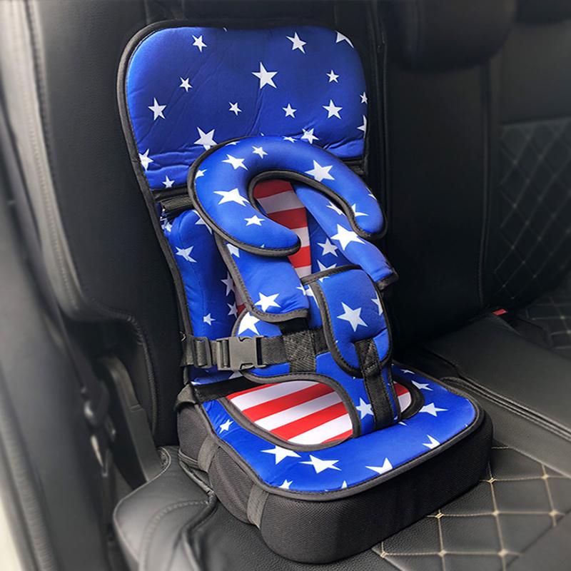 宝宝便携式车载汽车坐垫儿童安全座椅 婴儿小孩简易0-4岁3-7增高