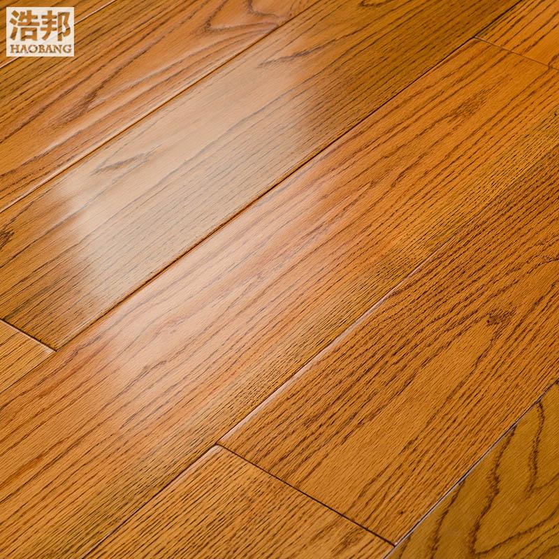浩邦美国红橡原木地板8882-3