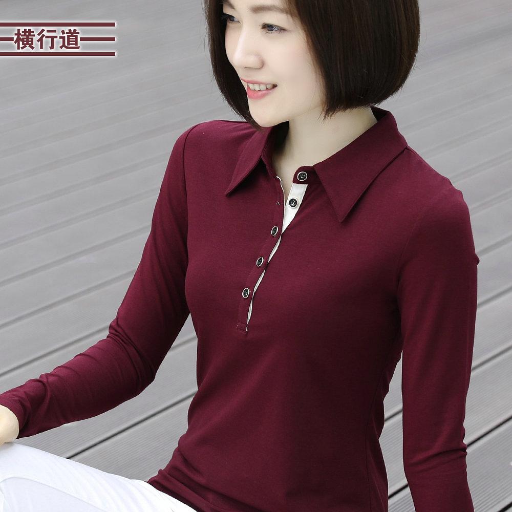 女装秋装带领打底衫