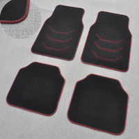 Suede non-slip car mat large-scale protection pad absorbent pad carpet mat high-grade solid universal mat
