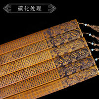 Ruler education, obedience, home, bamboo carving, bamboo ring, ruler, disciples, disciples, teachers, Chinese gifts