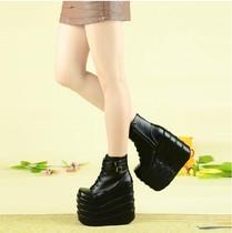 DD7FO342ABLFO342D冬款专柜正品女鞋袜靴短靴女靴TATA2017他她