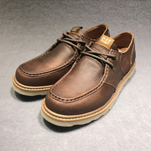 CAT Carter 2018 New Fashion Men's Shoes Low Up Outdoor Air-permeable Men's Boots, Cowskin Laces and Leisure Workwear Shoes