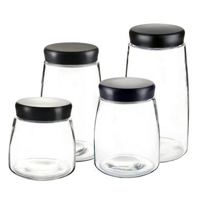 密封罐玻璃瓶储物罐咖啡豆奶粉茶叶罐家用柠檬蜂蜜酵素食品小罐子