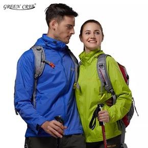 迪卡儂男防水航海外套防風防雨薄款戶外單層夾克風衣雨衣TRIBORD