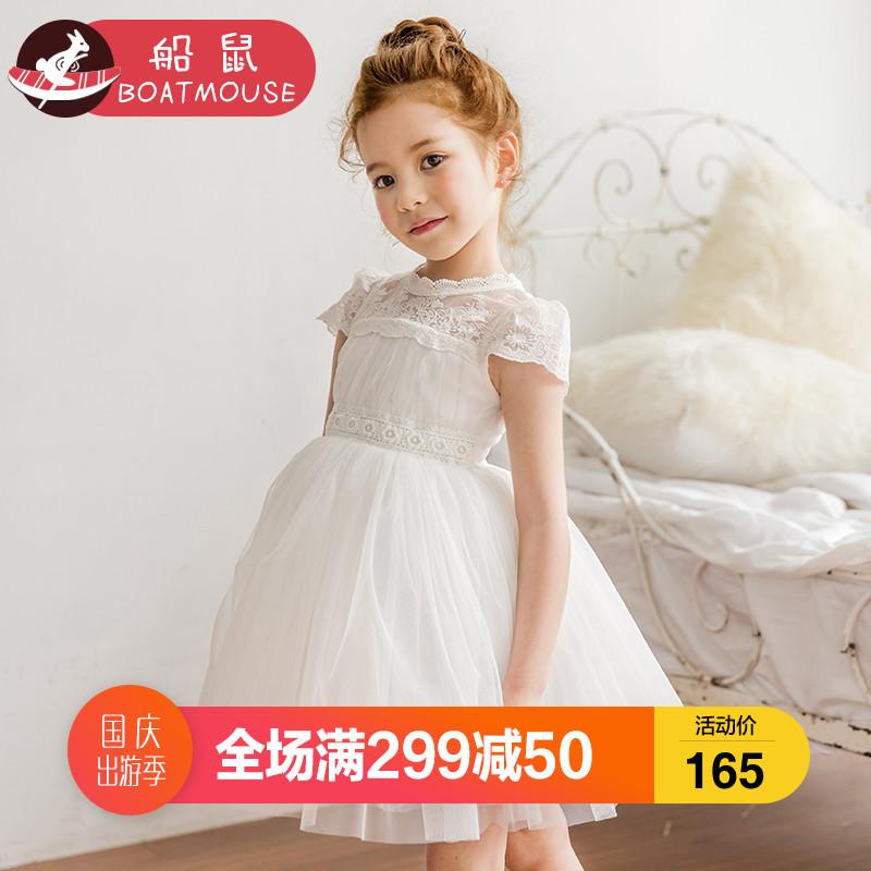 宝宝公主裙白色