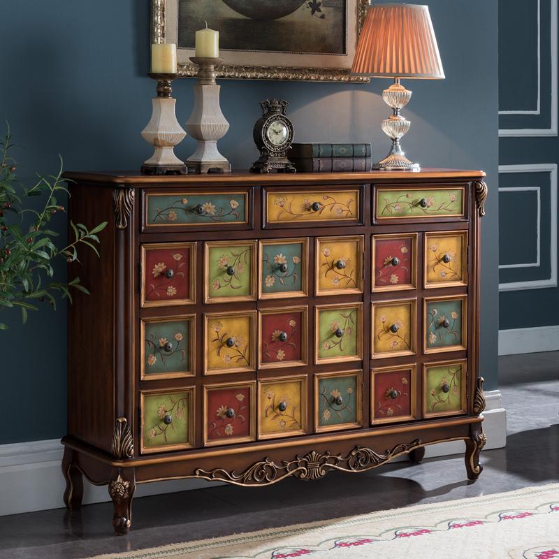 古典彩绘家具