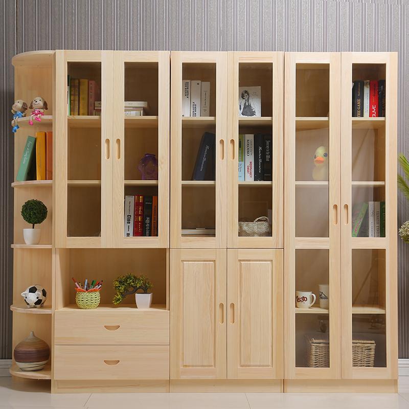 中式实木书柜