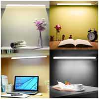 Philips strip LED light Fluorescent lamp with switch dormitory cool lamp desk eye protection reading lamp reading lamp