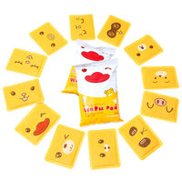 萱草 cartoon warm paste baby stickers female self-heating cold warm body stickers palace cold conditioning palace warm treasure foot stickers hot post