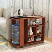 可移动茶水柜茶几茶桌茶水台茶车纯净水桶柜沙发边几置物茶水架