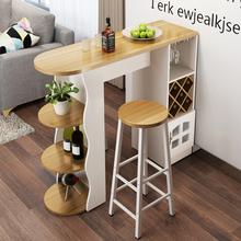 家用吧台桌简约现代咖啡桌酒柜客厅餐厅隔断柜转角简易靠墙欧式门