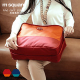 M square traveling suitcase clothes sorting bags large capacity Oxford cloth